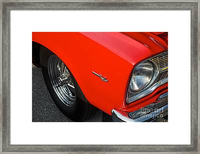 1965 Plymouth Belvedere Framed Print by Mark Dodd