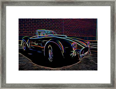 1965 Shelby Cobra - 2 Framed Print by Becca Buecher