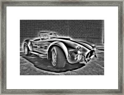 1965 Shelby Cobra - 3 Framed Print by Becca Buecher