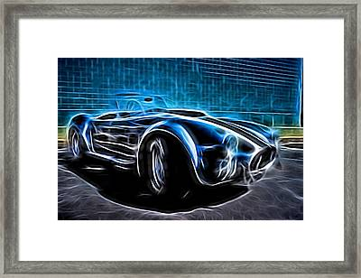 1965 Shelby Cobra - 4 Framed Print by Becca Buecher
