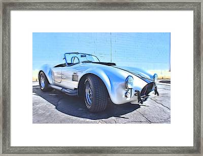 1965 Shelby Cobra - 5 Framed Print by Becca Buecher