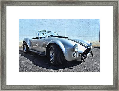 1965 Shelby Cobra Framed Print by Becca Buecher