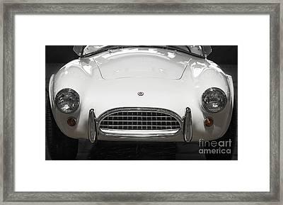 1965 Shelby Cobra Framed Print by Dennis Hedberg