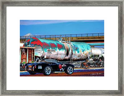 1965 Shelby Cobra II Framed Print by Sylvia Thornton