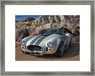 1965 Shelby Cobra Replica 427 Framed Print