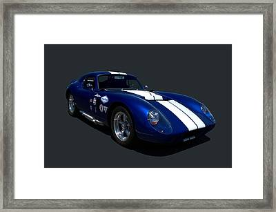 1965 Shelby Daytona Coupe Replica Framed Print by Tim McCullough