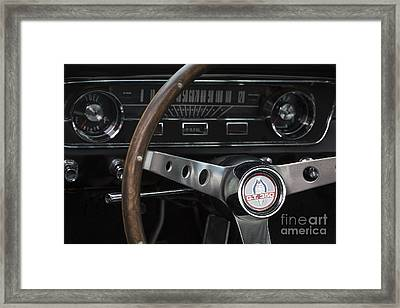 1965 Shelby Gt Framed Print by Dennis Hedberg