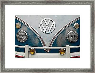 1965 Vw Volkswagen Bus Framed Print