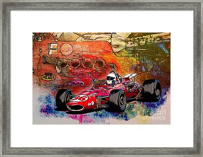 1966 9 Eagle Indy Framed Print