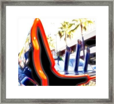 1966 Batmobile 13 Framed Print