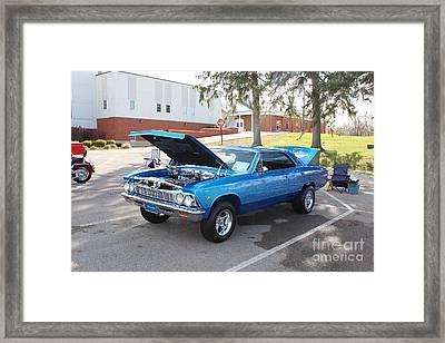 1966 Chevelle Super Sport Framed Print
