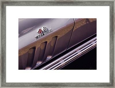 1966 Chevrolet Corvette Stingray Framed Print by Gordon Dean II