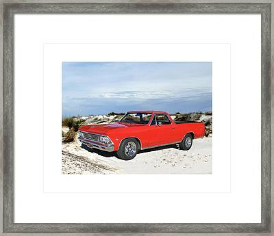 1966 Chevrolet El Camino 327 Framed Print by Jack Pumphrey