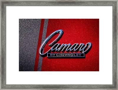 1966 Chevy Camaro Framed Print by David Patterson