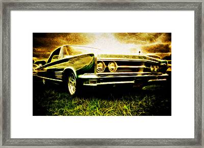 1966 Chrysler 300 Framed Print by Phil 'motography' Clark