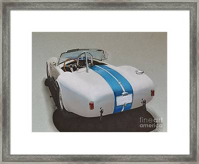 1966 Cobra Framed Print by Paul Kuras