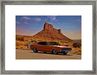 1966 Dodge Charger 500 Framed Print