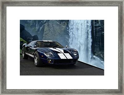 1966 Ford Gt 40 Framed Print by Tim McCullough