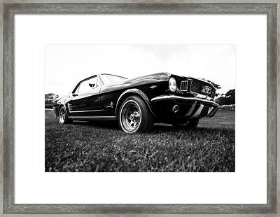 1966 Ford Mustang 289 Framed Print by motography aka Phil Clark