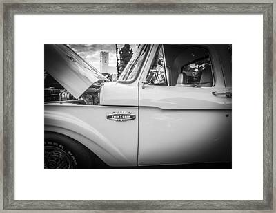 1966 Ford Stepside First Series Pickup Truck Framed Print by Rich Franco