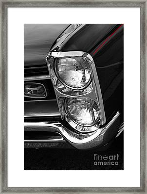 1966 Gto Framed Print by Paul Mashburn