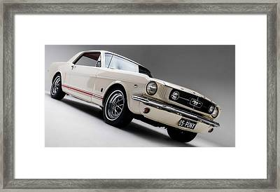 Framed Print featuring the photograph 1966 Mustang Gt by Gianfranco Weiss