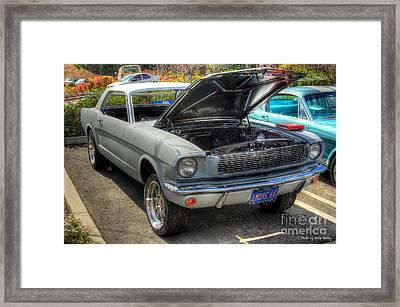 1966 Mustang  Framed Print