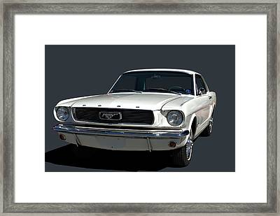1966 Mustang Framed Print by Tim McCullough