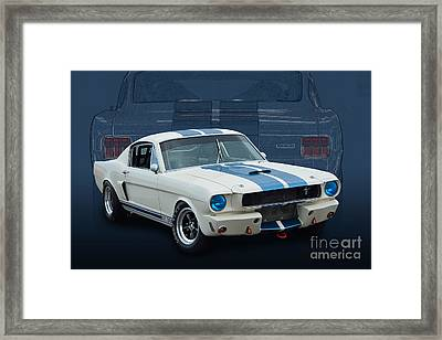 1966 Shelby Gt350 Framed Print