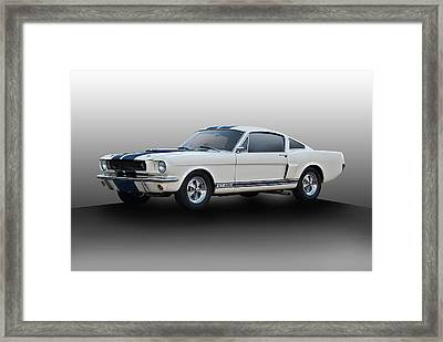 1966 Shelby Mustang Gt350 I Framed Print by Dave Koontz