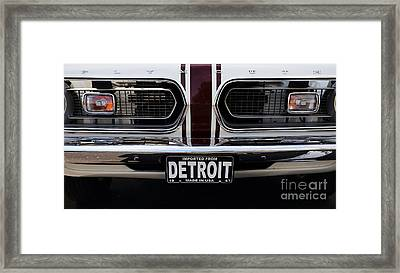 1967 Barracuda Framed Print by Dennis Hedberg