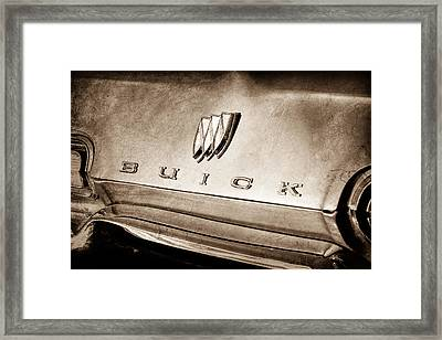 1967 Buick Lesabre Emblem Framed Print