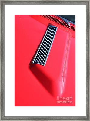 1967 Chevrolet Chevelle Ss Hotrod 5d26458 Framed Print