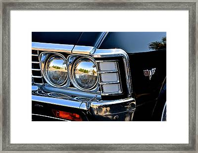 1967 Chevy Impala Front Detail Framed Print