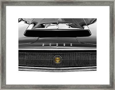 1967 Dodge Charger Framed Print by Gordon Dean II