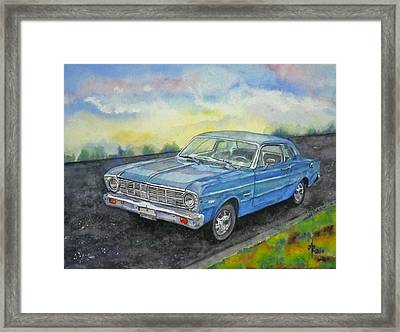 1967 Ford Falcon Futura Framed Print