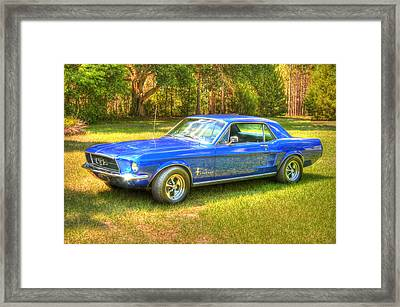1967 Ford Mustang Framed Print