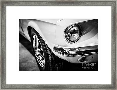 1967 Ford Mustang Shelby Gt350 Picture Framed Print by Paul Velgos