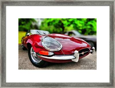 1967 Jaguar E Type Framed Print