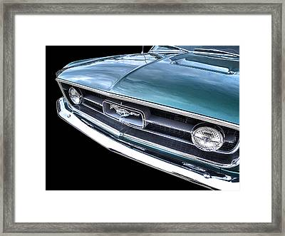 1967 Mustang Grille Framed Print