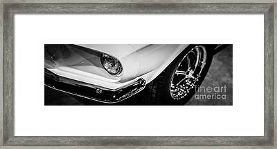 1967 Shelby Gt350 Ford Mustang Panoramic Picture Framed Print by Paul Velgos