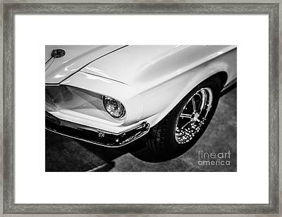 1967 Shelby Gt350 Ford Mustang Photo Framed Print by Paul Velgos