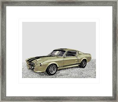 Go Baby Gone Framed Print