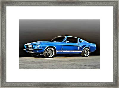 1967 Shelby Mustang Gt500 Framed Print