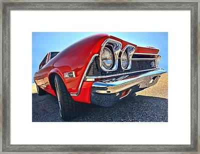 1968 Chevy Chevelle Ss 396 Framed Print