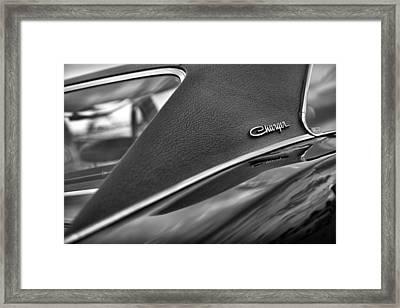 1968 Dodge Charger Rt Framed Print by Gordon Dean II