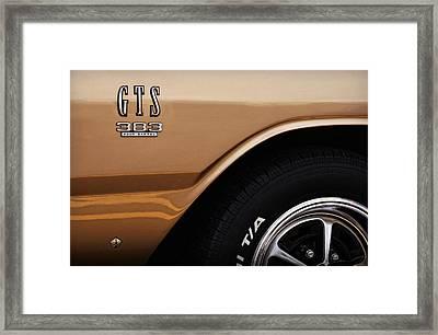 1968 Dodge Dart Gts 383 Four Barrel Framed Print
