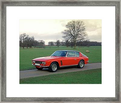 1968 Jensen Intereptor Mki Racing Framed Print