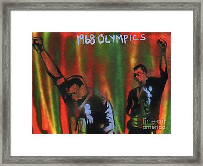 1968 Olympics Framed Print by Tony B Conscious