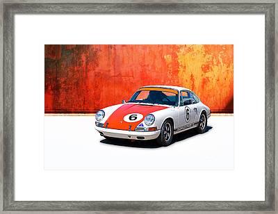 1968 Porsche 911 Framed Print